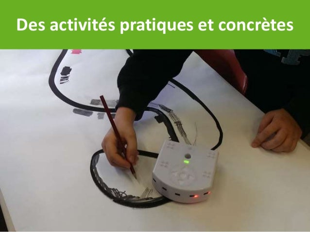 Des activités pratiques et concrètes