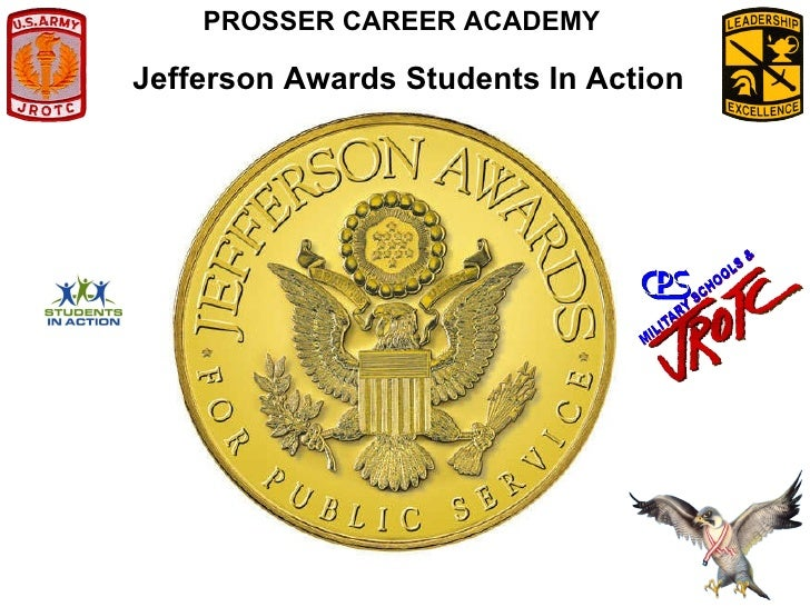 Jefferson Awards Students In Action