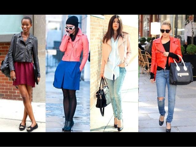 Como usar - Jaqueta de couro feminina - Modelos coloridos.