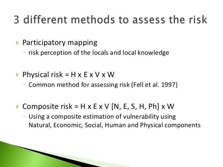 risk assessment tools in decision making Itrc's decision making at  and tools) to support decision making when  how to improve the use of risk assessment for making better.
