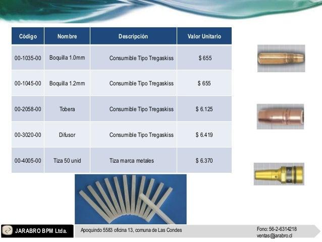 Jarabro Industria ámbito SOLDADORA Slide 2