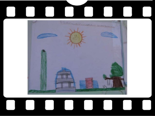Ilustrações em desenhos feitos por crianças sobre o filme O Jardim Secreto