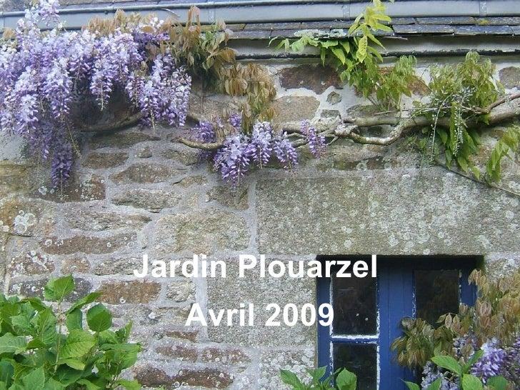 Jardin Plouarzel Avril 2009