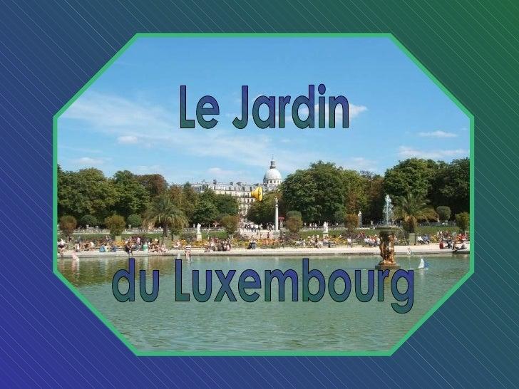 Le jardin du luxembourg - Jardin du luxembourg enfant ...
