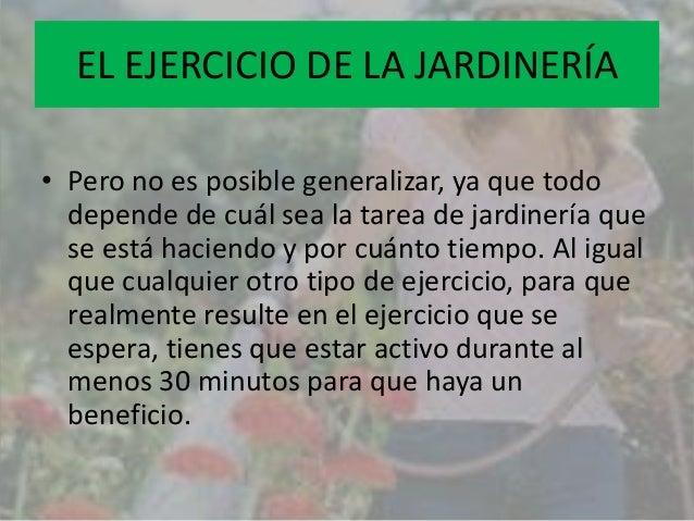 Jardiner paola yahid - Tareas de jardineria ...