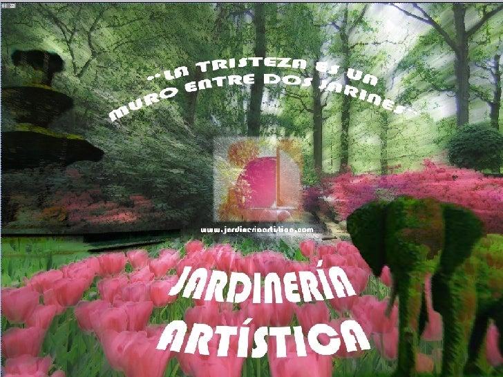 jardineria artistica