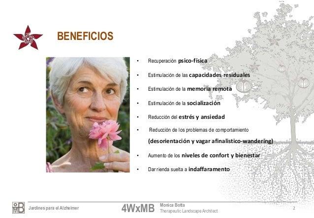 Jardines alzheimer por monica botta Slide 3