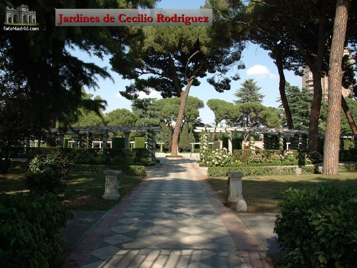 Jardines del buen retiro for Jardines cecilio rodriguez