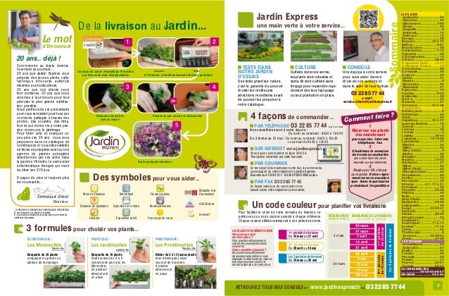 Jardin express printemps 2014 for Jardin express