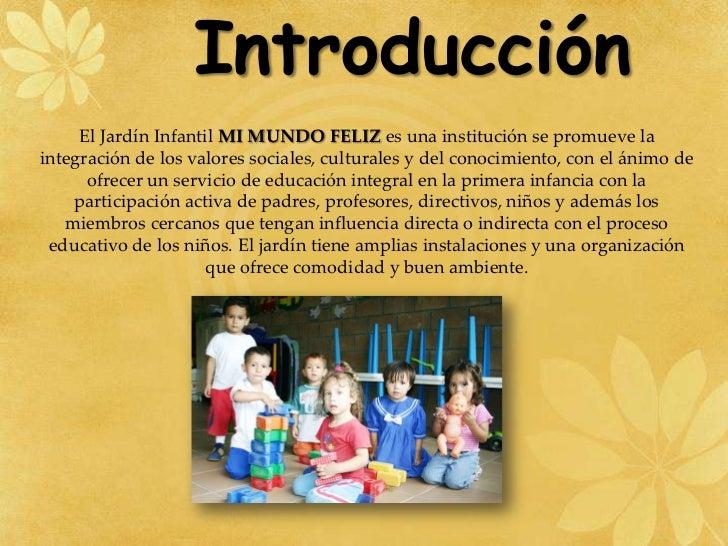 Jardin infantil mi mundo feliz - Casa para jardin infantil ...