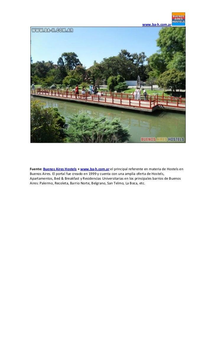 Jard n japon s de buenos aires salidas en buenos aires for Casa jardin hostel buenos aires
