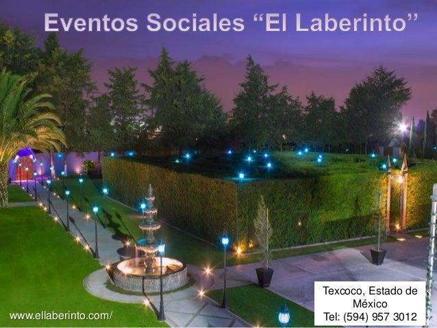 Jardin para fiestas for Fiestas en jardin