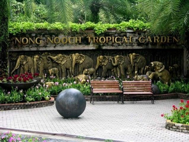 Nong Nooch, el espectacular Jardín Botánico Tropical de Tailandia El matrimonio Pisit Nawng Nooch Tansaka quiso realizar u...