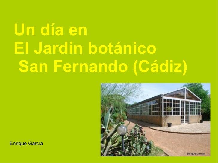 Jard n bot nico for Guarderia el jardin san fernando