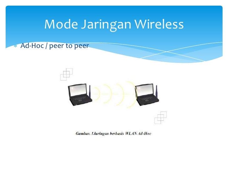 Jaringan nirkabel mode jaringan wirelessad hoc peer to peer ccuart Choice Image