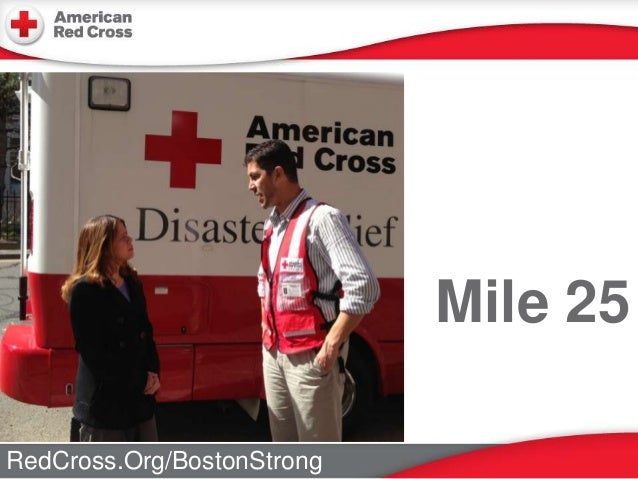 RedCross.Org/BostonStrong Mile 25