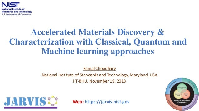 Accelerated Materials Discovery & Characterization with Classical, Qu…