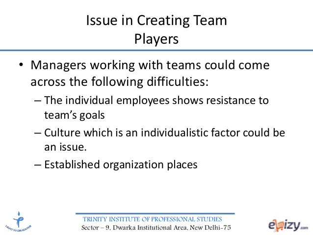 organizational behavior and team work Organizational work groups and work teams – approaches and differences  this paper is to outline a conceptual framework of team social capital as a basis for reaching organizational team.