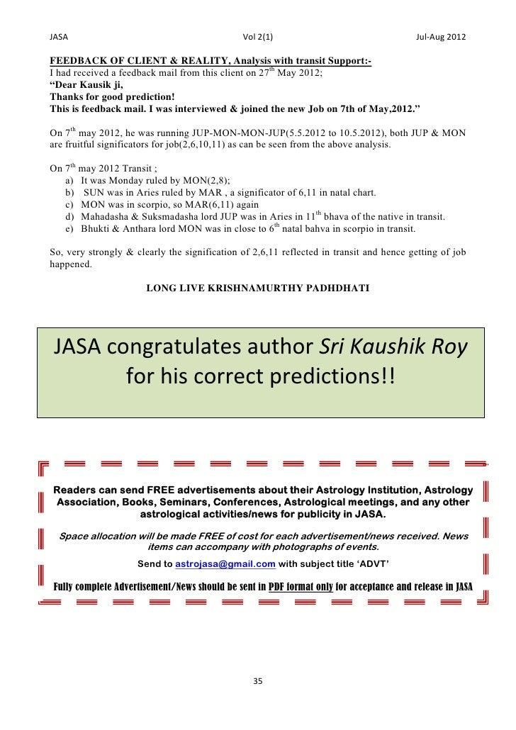 Jasa 1st anniversary issue 2012