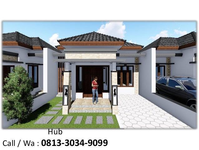 Elegan Call Wa 0813 3034 9099 Jasa Desain Rumah Minimalis Modern
