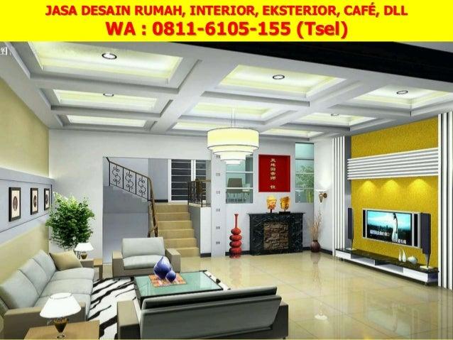 0811 6105 155 Tsel Jasa Desain Rumah Mewah 1 Lantai Medan
