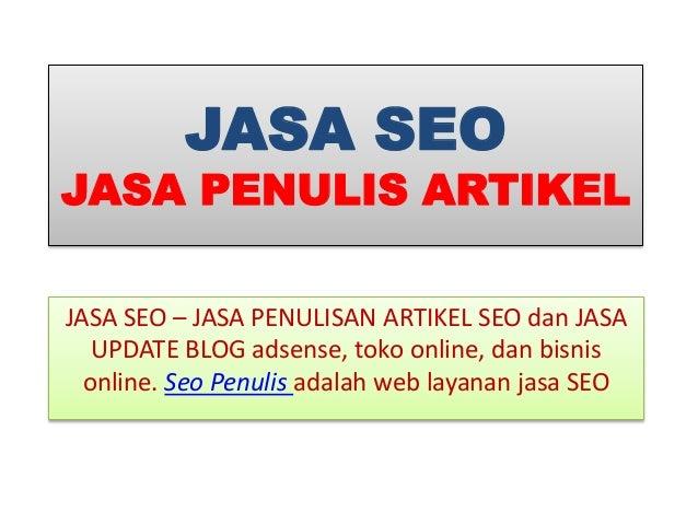 jasa SEO Indonesia