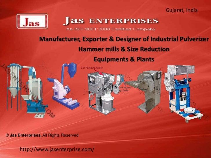 Gujarat, India                 Manufacturer, Exporter & Designer of Industrial Pulverizer                             Hamm...