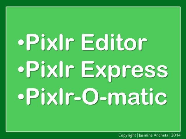 Pixlr com Website Tutorial