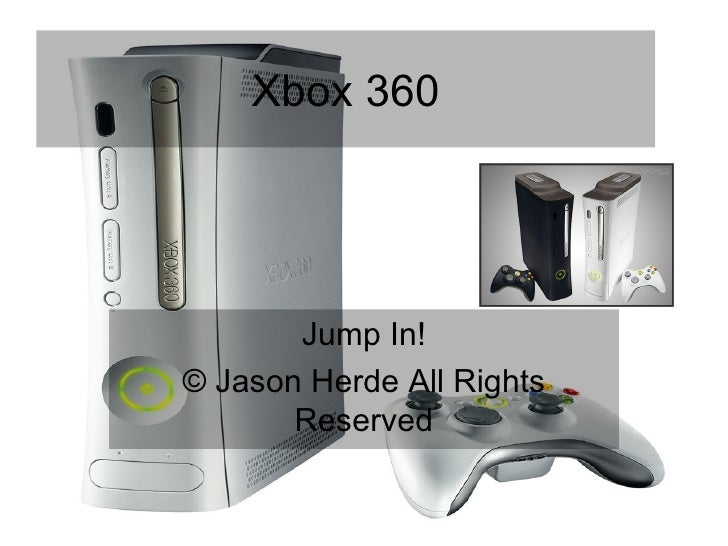 Xbox 360 Jump In! © Jason Herde All Rights Reserved