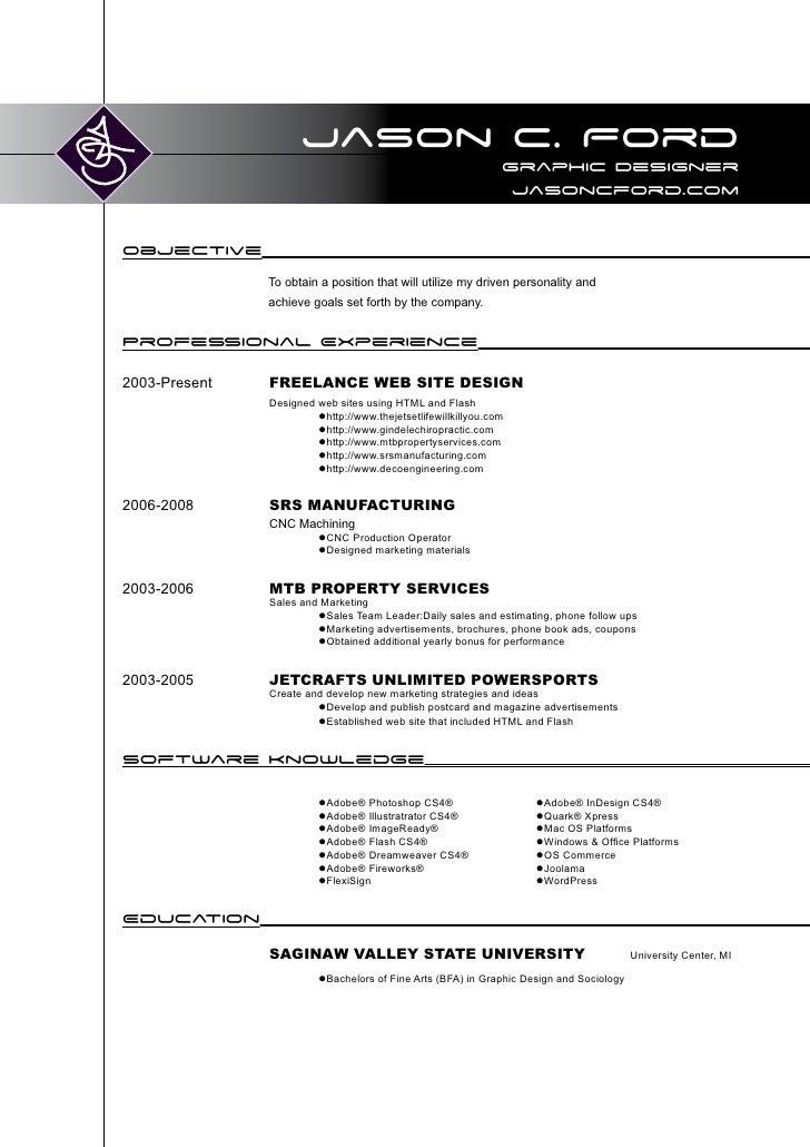 Jason C. Ford Resume