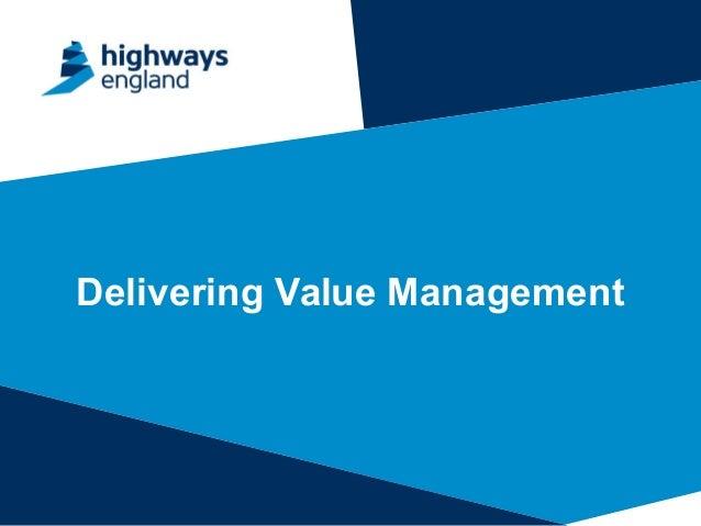 Delivering Value Management