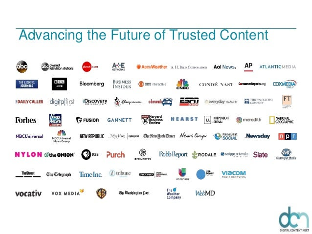 Advancing the Future of Trusted Content