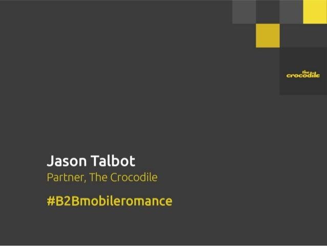 Jason Talbot Partner,  The Crocodile  = .-'3-': B2Brnobileromance  use rue