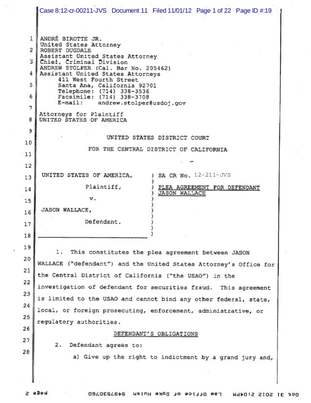 Case 8:12-cr-00211-JVS Document 11 Filed 11/01/12 Page 1 of 22 Page ID #:19 12-211-JVS