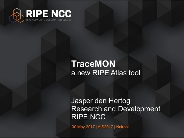 TraceMON - a new RIPE Atlas tool