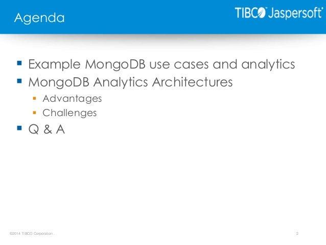 Lightning Talk: Real-Time Analytics from MongoDB