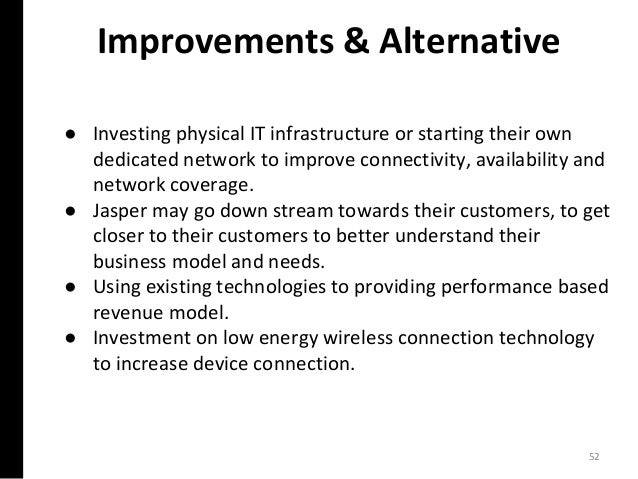 ● Investing physical IT infrastructure or starting their own dedicated network to improve connectivity, availability and n...
