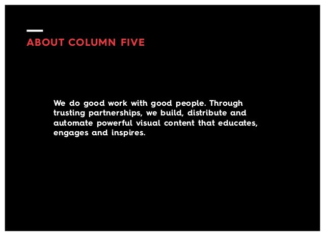 """The Thread Summit Keynote Speaker, Jason Lankow, CEO & Founder and Author (Column Five), """"Excavation: Digging Deep to Mine for Powerful Visual Content""""  Slide 3"""