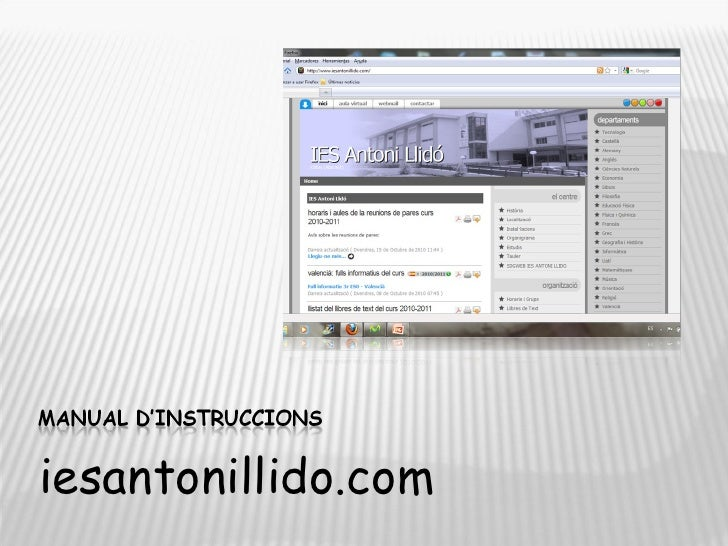 <ul><li>iesantonillido.com </li></ul>
