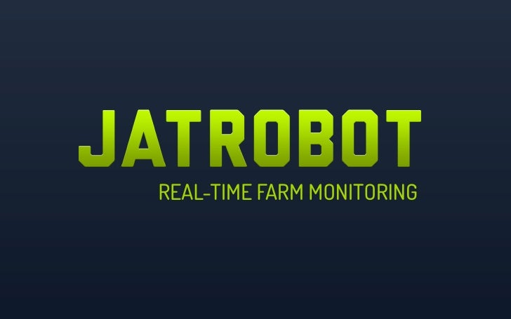 REAL-TIME FARM MONITORING
