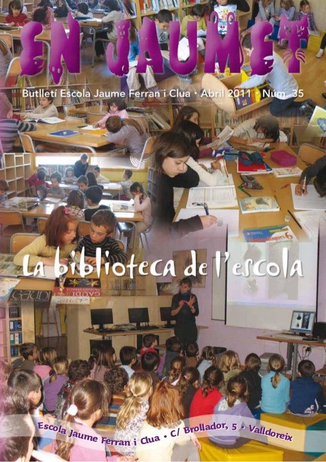 Escola ador, 5 • Valld Jaum oreix / Broll e Ferran i Clua • C
