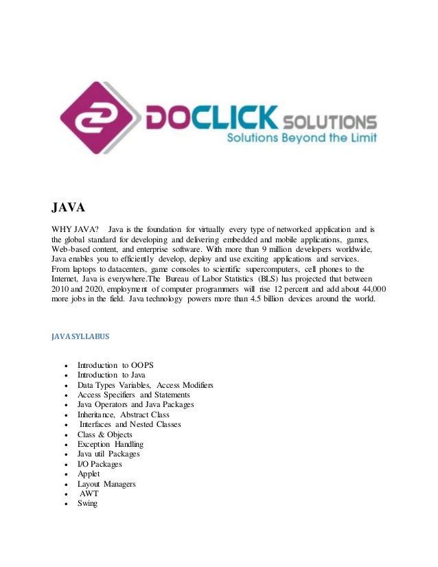 Best Java Certification Training In Coimbatore