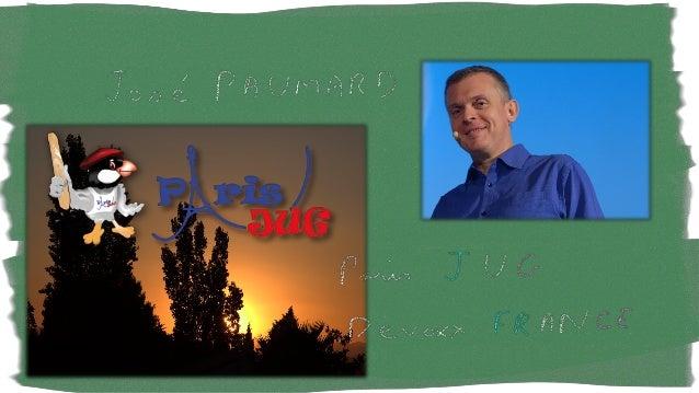 @JosePaumard#50new8 Date : Duration On peut faire des calculs sur les « durations » Instant start = Instant.now() ; Instan...