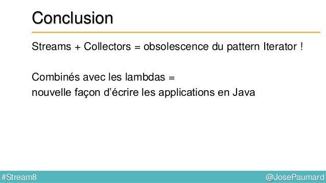 Java 8-streams-collectors-patterns