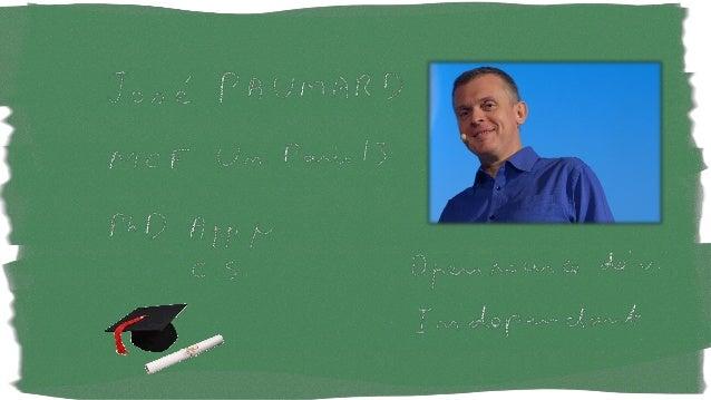 @JosePaumard#Stream8 Du code et des slides 1ère partie : des slides - Stream - Opérations - État - Réduction - Collector 2...
