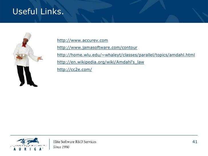 Useful Links.           http://www.accurev.com           http://www.jamasoftware.com/contour           http://home.wlu.edu...