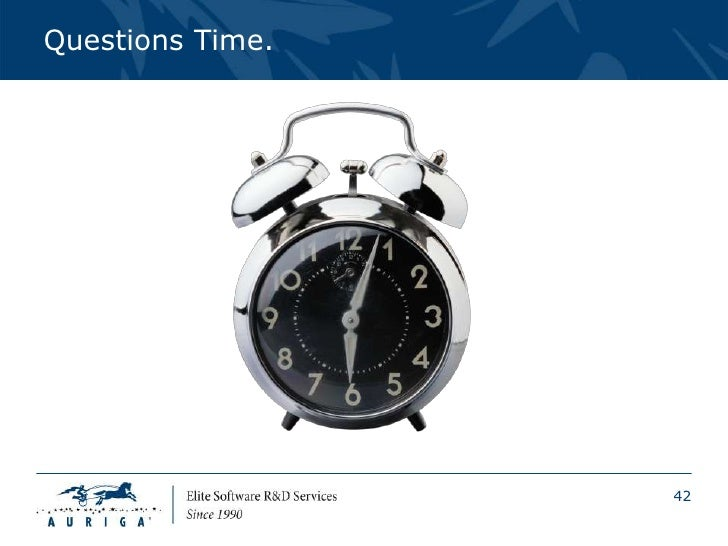 Questions Time.                  42