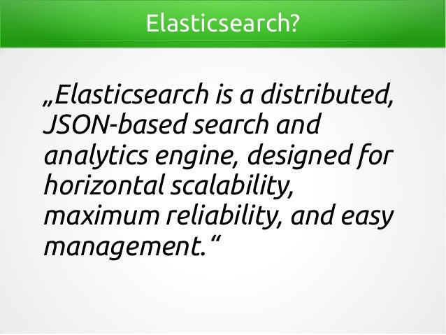 Java clients for elasticsearch