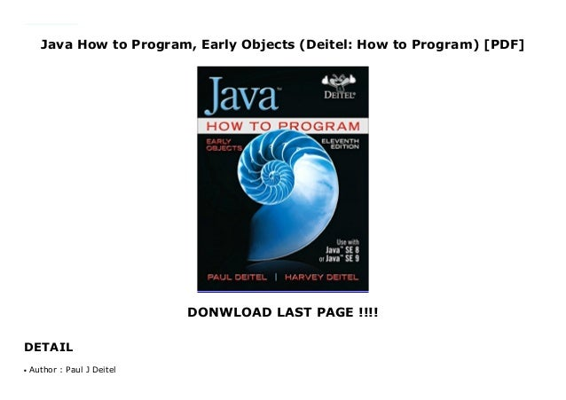 Java How To Program Powerpoint Slides By Paul Deitel Professeur Stagiaire