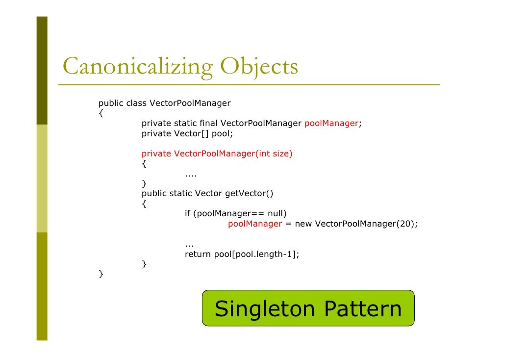 Java performance tuning for Object pool design pattern java